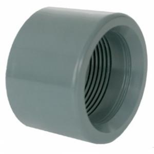 "PVC-Übergangsmuffe 25 - 1/2"" IG"