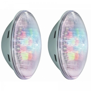 2x LumiPlus 1.11 RGB PAR 56, wireless