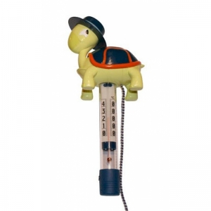 TURTLE - Thermometer,  yellow