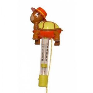 TURTLE - Thermometer,  orange