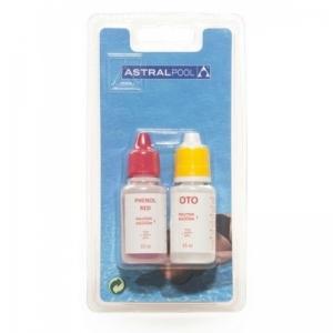 NachfüllSet zu Pooltester Chlor / Brom / pH  (2x 15ml)