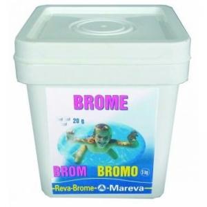 Brom, Tabl. à 20 g - 5 kg
