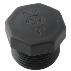 "PVC - Verschlussstopfen 2"""