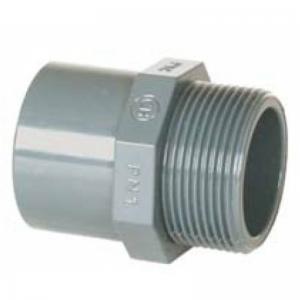 """PVC-Übergangsmuffe 50/40 x 1 1/2"""" AG"""