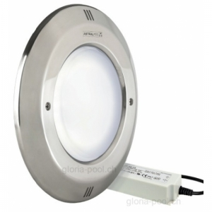 OPTIPAR - LED Einsatz, Blende INOX, LED weiss