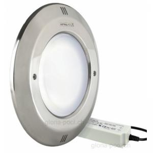 OPTIPAR - LED Einsatz mit INOX Blende, LED weiss