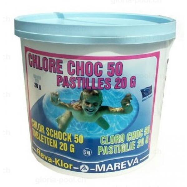 reva chlor schock 50 5 kg chlor brom gloria pool shop. Black Bedroom Furniture Sets. Home Design Ideas