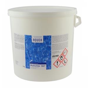 AQUEA  Multichlor 360° / 200 gr. Tabl. - 5 kg
