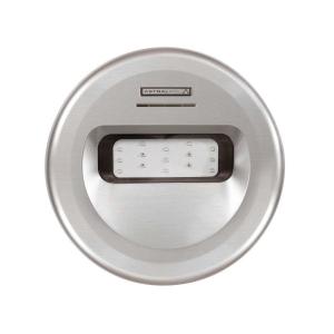 DESIGN LED-Einsatz mit INOX Effekt / LED weiss